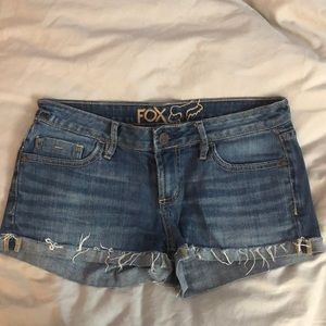 Fox brand women's shorts